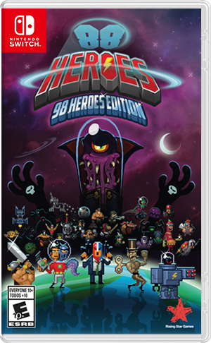 Boxart for 88 Heroes - 98 Heroes Edition