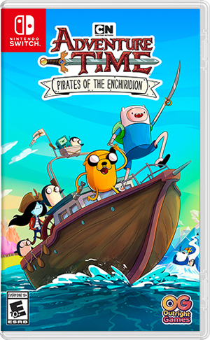 Boxart for Adventure Time: Pirates of the Enchiridion