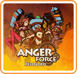 Boxart for AngerForce: Reloaded for Nintendo Switch