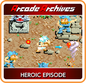 Boxart for Arcade Archives HEROIC EPISODE
