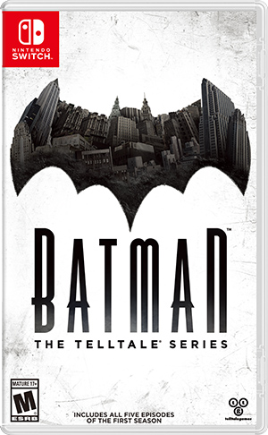 Boxart for Batman - The Telltale Series