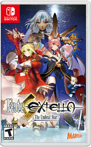 Boxart for Fate/EXTELLA: The Umbral Star