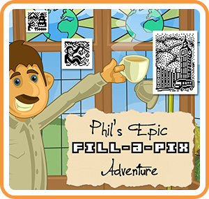 Boxart for Fill-a-Pix: Phil's Epic Adventure