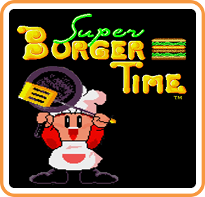Boxart for Johnny Turbo's Arcade: Super Burger Time