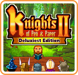 Boxart for Knights of Pen & Paper 2 Deluxiest Edition