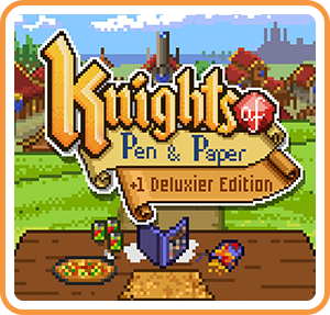 Boxart for Knights of Pen and Paper +1 Deluxier Edition