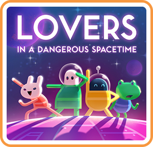 Boxart for Lovers in a Dangerous Spacetime