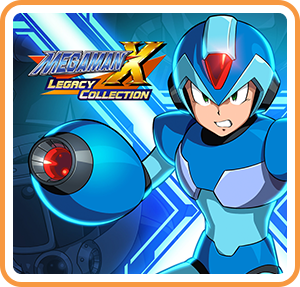Boxart for Mega Man X Legacy Collection