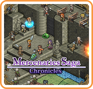 Boxart for Mercenaries Saga Chronicles