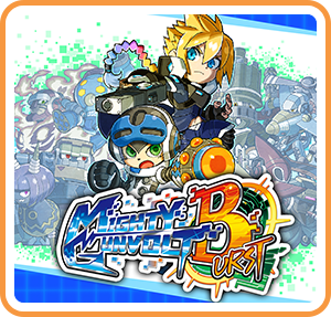 Boxart for MIGHTY GUNVOLT BURST
