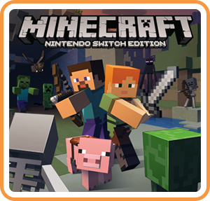 Boxart for Minecraft: Nintendo Switch Edition - Digital Version