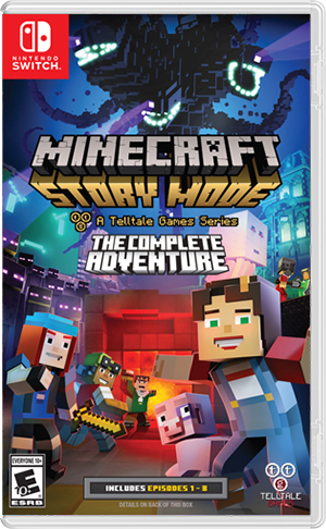 Boxart for Minecraft: Story Mode - The Complete Adventure