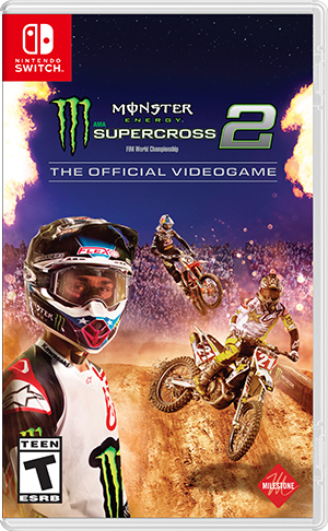 Boxart for Monster Energy Supercross - The Official Videogame 2
