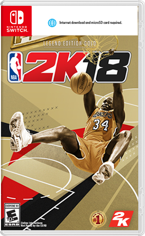 Boxart for NBA 2K18 Legend Edition Gold