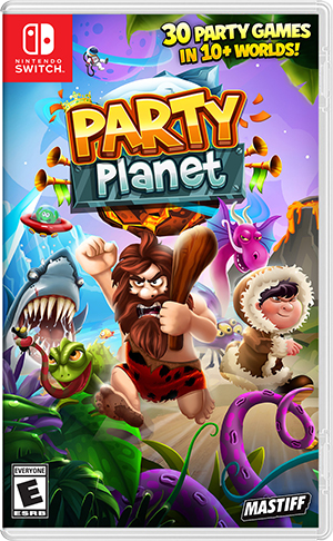 Boxart for Party Planet