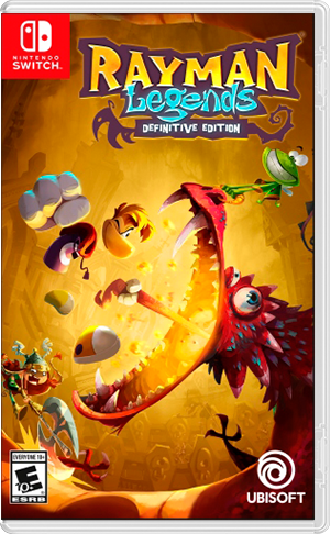 Boxart for Rayman® Legends Definitive Edition