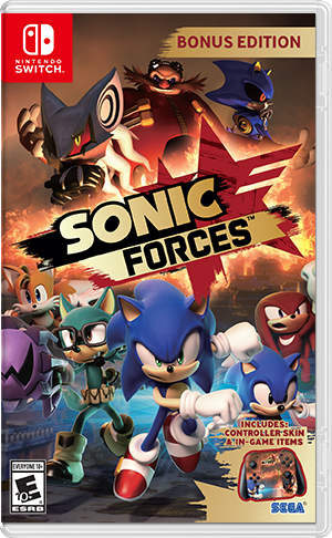 Boxart for Sonic Forces
