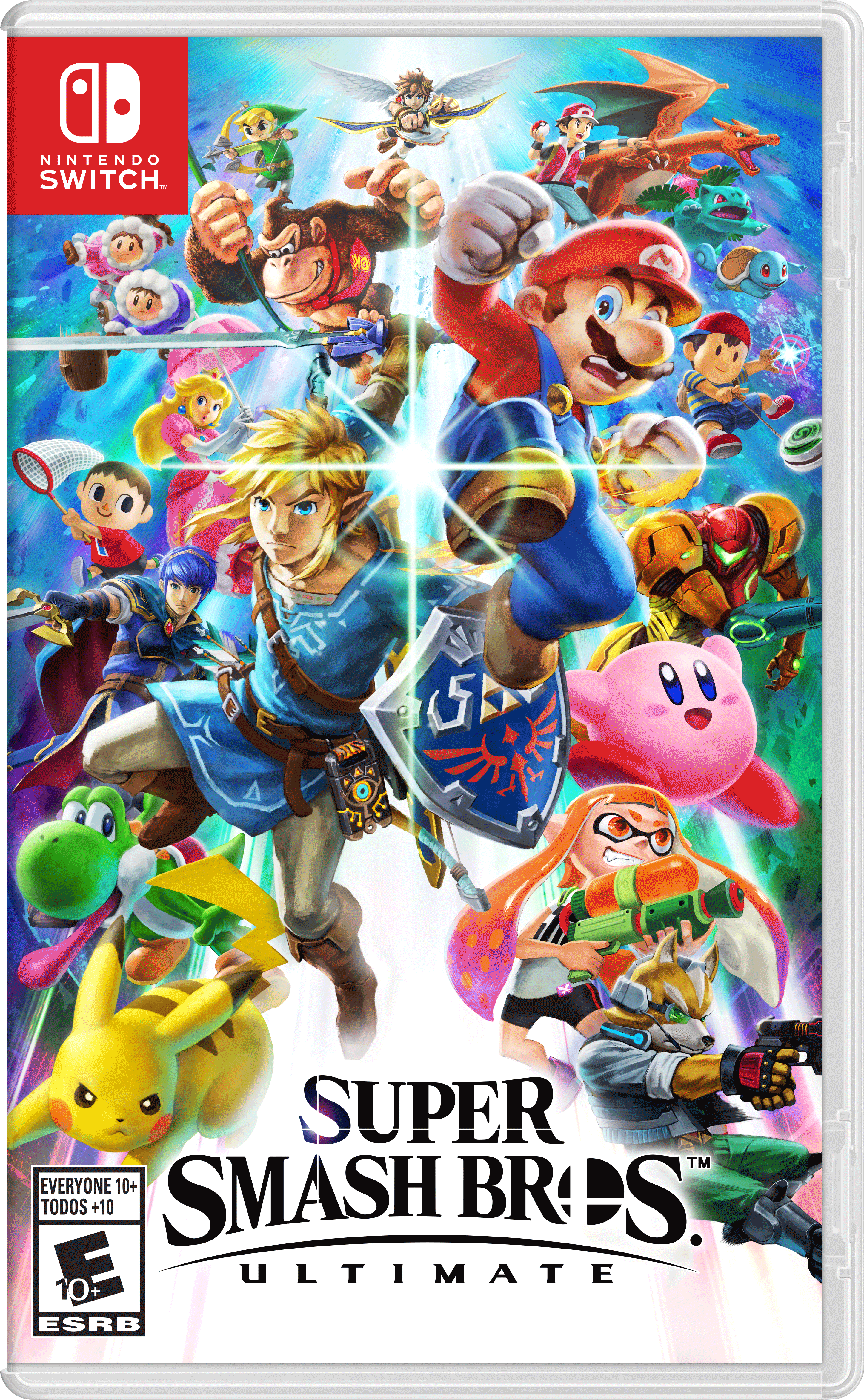 Boxart for Super Smash Bros. Ultimate