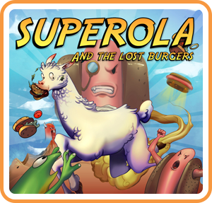 Boxart for Superola and the Lost Burgers