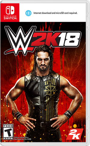Boxart for WWE 2K18